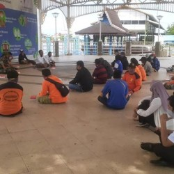 TERLALU AWAL Bekerja, DLH Banjarmasin Ingatkan Petugas Penyapu