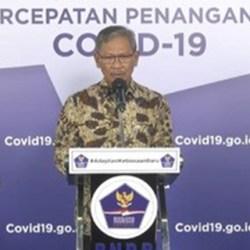 POSITIF COVID-19 di Indonesia Bertambah 1.681, Kalsel 77 Kasus Baru