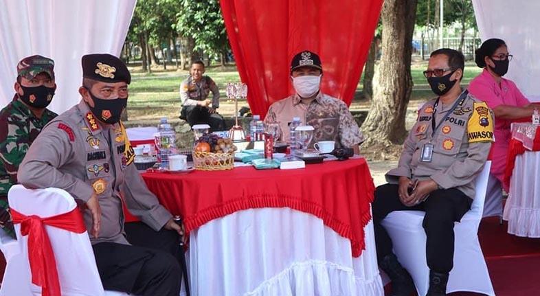 RATUSAN PAKET Baksos Diterima Warga Banjarmasin dari Alumni Akpol 91-BD