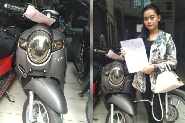MOTOR RAIB Akhirnya Ketemu dan Diambil di Mapolresta Banjarmasin