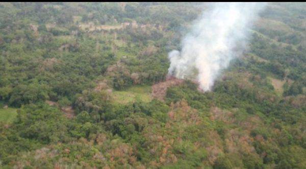 PATROLI UDARA Temukan Titik Panas di Mataraman dan Paling Besar di Kurau