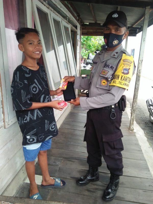 DIDATANGI Polisi, Seorang Pelajar SMP Sempat Kaget Tenyata Ini Didapatnya