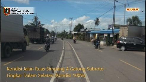 KONDISI MANTAP 4 Kilometer Jalan Lingkar Dalam Selatan