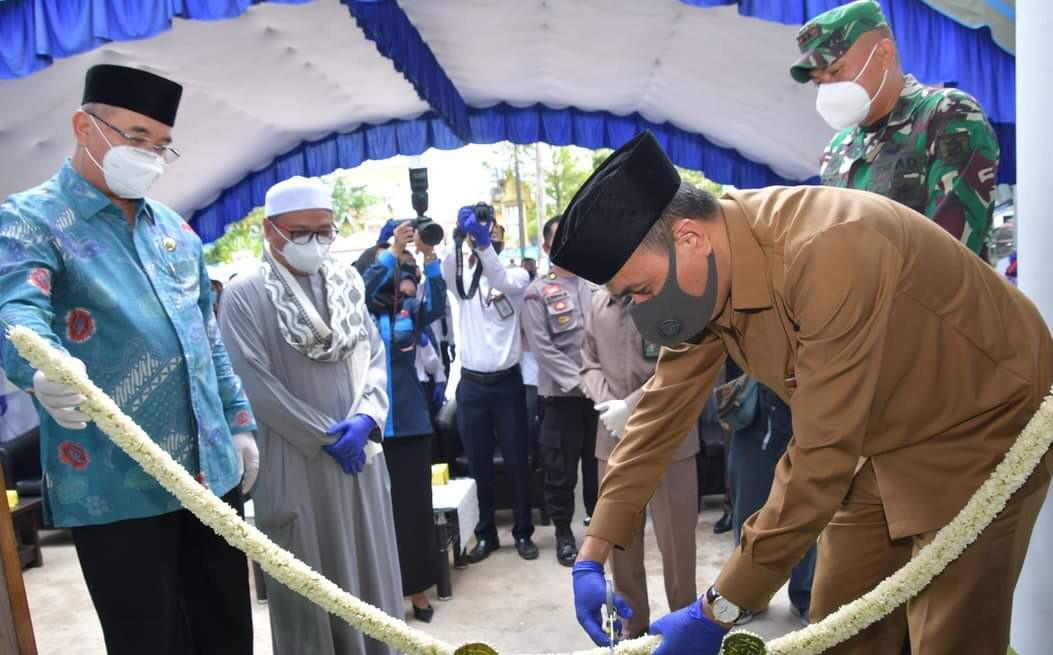 GEDUNG BARU Kini Ditempati Bank Kalsel Syariah Kandangan
