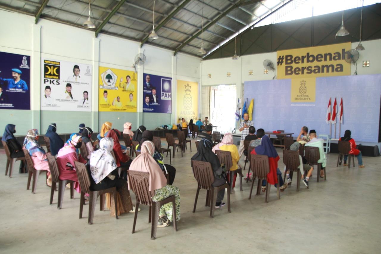 DIPENUHI Guru Swasta 'Markas Berbenah Bersama' Ananda-Mushaffa, Ada Apa?