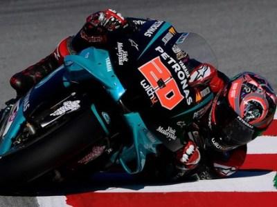 TANGIS Fabio Fuartararo Pecah Setelah Akhirnya Naik Podium di MotoGP Catalunya