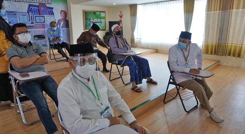 MULAI JALANI Tes Kesehatan, Para Bapaslon Pilkada di Kalsel