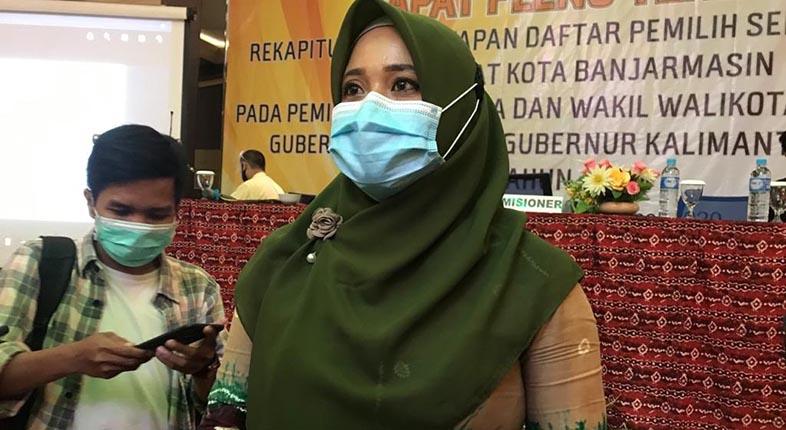 BELUM DITERIMA KPU Banjarmasin Surat Resmi Hasil Swab Habib Ali