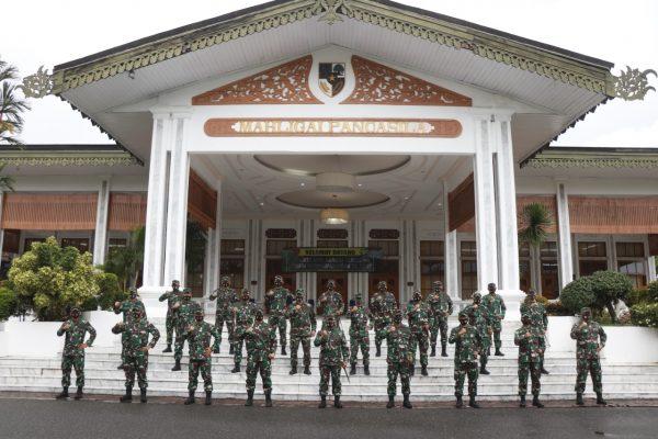 MAYJEN TNI HERI Tekankan Komandan Satuan Mewujudkan Kesiapsiagaan Satuan Operasional