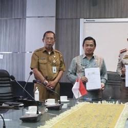 RESMI, Pemko Banjarmasin Terima Lahan Eks Balai Karantina Kementan RI