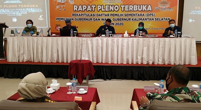 DIHUJANI Catatan Bawaslu Rapat Pleno KPU Kalsel