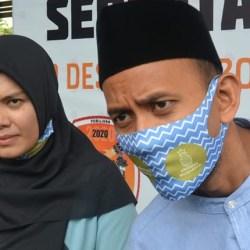 PASANGAN Termuda di Pilwali Banjarmasin, Ananda-Mushaffa Optimis Lebih Energik
