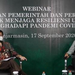 KEBIJAKAN Restrukturisasi Kredit OJK Jaga Resiliensi UMKM Hadapi Pandemi COVID-19