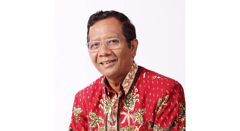 MENKO POLHUKAM Mahfud MD: 92 Persen Calon Kepala Daerah Dibiayai Cukong