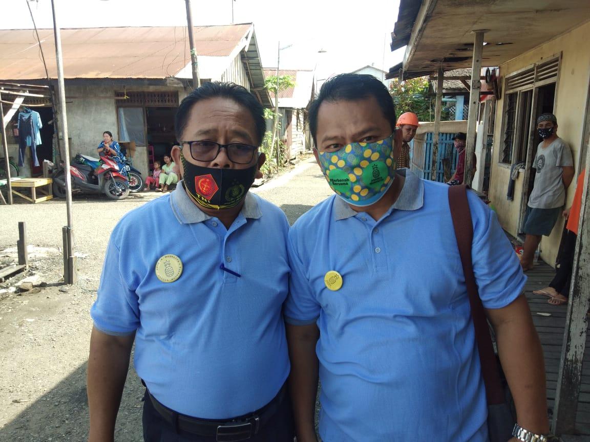 SIAP ALL OUT Relawan Buruh Sahabat Ananda Menangkan Ananda-Mushaffa di Pilwali Banjarmasin