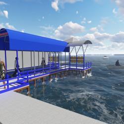 DISHUB BANGUN Shelter Air di Dua Lokasi, Dongkrak Pariwisata Banjarmasin
