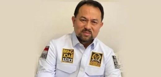 WAKET KOMISI III Pangeran Khairul Saleh Minta Kapolri Buru Pelaku Pelemparan Bom Molotov di Kantor PAN Kukar