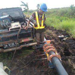 SALURAN Pengairan Atasi Karhutla di Banjarbaru Sudah Tergarap