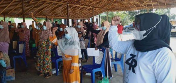 BLUSUKAN di Tujuh Desa, Muhammad Rusli Kampanye Dialogis