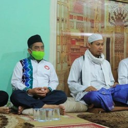 HADIRI Kegiatan Keagamaan Ibnu-Arifin Bersilaturahmi ke Majelis Al Basyir
