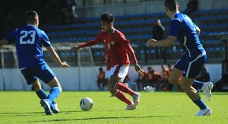 GARUDA MUDA Gebuk Makedonia Utara 4-1