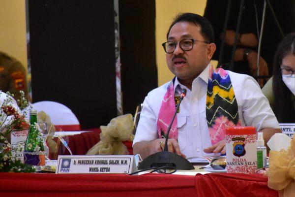 WAKET Komisi III DPR-RI asal PAN,Nyatakan Salut Kinerja Jajaran Polda Kalsel