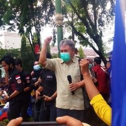 WR III ULM Sambangi Mahasiswa, Kondusifkan Massa Aksi