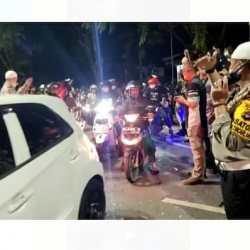 BARU MALAMNYA Ruas Jalan yang Ditutup Polresta Banjarmasin Dibuka Kembali