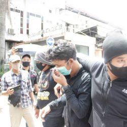 DIGELENDANG ke Mapolda Kalsel, Ada Tujuh Pemuda Mabuk di Situasi Demo Mahasiswa