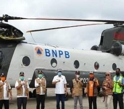 HELIKOPTER Baling-Baling Ganda Operasional di Kalsel Tangani Bencana