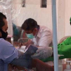 SEBARAN COVID-19 di Indonesia 3.535 Kasus Baru, Kalsel 22