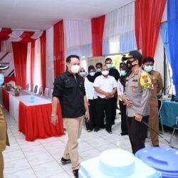 TINJAU Karantina Khusus Covid, Kapolda Kalsel Juga Paparkan Pengamanan Pilkada 2020