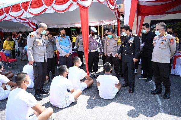 DICEK KAPOLDA KALSEL Supervisi Seleksi Penerimaan Bintara Polri