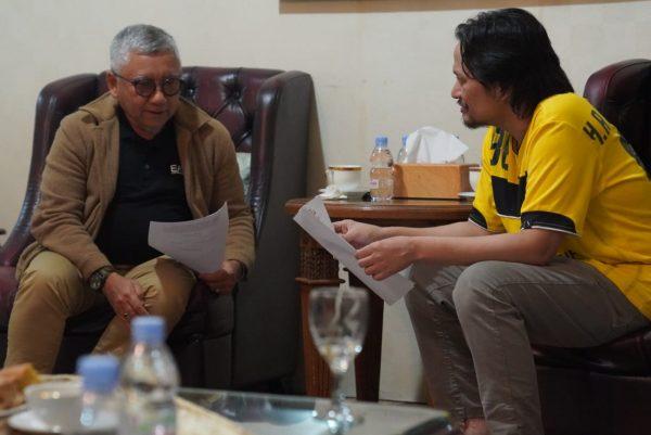FAKTA INTEGRITAS Dukungan dari Hasnuriyadi 'di Genggaman' Abdul Haris Makkie dan Ilham Nor