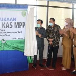 KANTOR KAS MPP Bank Kalsel di Disdukcapil Kabupaten Tapin Diresmikan