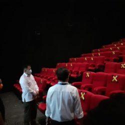 TERAPKAN 71 Prokes, Cinepolis Q Mall Banjarbaru Beroperasi Kembali