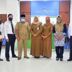 DIRESMIKAN Relokasi Kantor Cabang Pembantu Bank Kalsel Pagatan