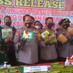 GAGAL Bawa 84 Kg Sabu dan 30 Ribu Ekstasi ke Kalsel, Pelaku Emon Keburu Disegap Anggota Polresta Banjarmasin di Lampung