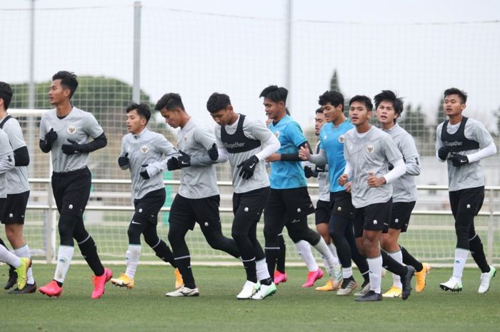 NASIB SAMA Dialami Timnas U-19 Indonesia dan Arab Saudi U-19 di Spanyol