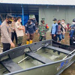ANGGOTA GABUNGAN Dirikan Posko Terpadu Penanggulangan Bencana Banjir di Batola