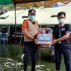 BUKA TEMPAT Pengungsian serta Salurkan Bantuan Pangan Digelar Posko Banjarmasin Timur