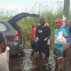 KEPEDULIAN Pada Masyarakat Banjir yang Kurang Terjangkau