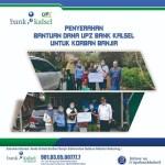 SALURKAN Bantuan Terdampak Banjir, UPZ Bank Kalsel Cabang Paringin
