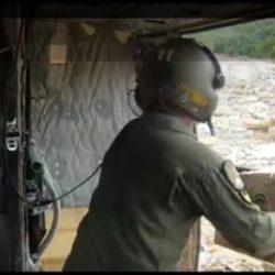 HELI BELL TNI  AD Mendarat Darurat di Desa Terisolir Perintah Danrem 101/ Antasari