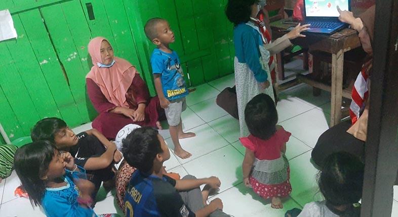 GAME BUATAN SMK Telkom Digunakan untuk Pendampingan Psychosocial Pramuka Martapura
