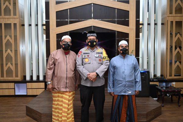 DUA HABIB Bersama Kapolda Kalsel Ikuti Melalui Video Conference Silaturahmi Kapolri dengan Ketum DPP Rabithah Alawiyah
