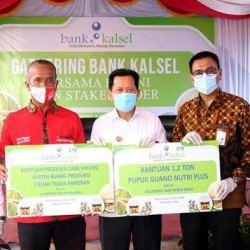 DUKUNG Produktivitas dan Kualitas Petani Cabe Hiyung, Bank Kalsel Bersinergi dengan Pemkab Tapin