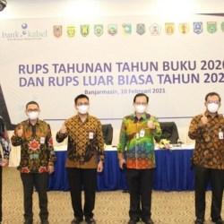 RUPS Tahunan Tahun Buku 2020 dan RUPS Luar Biasa Tahun 2021 Digelar Bank Kalsel