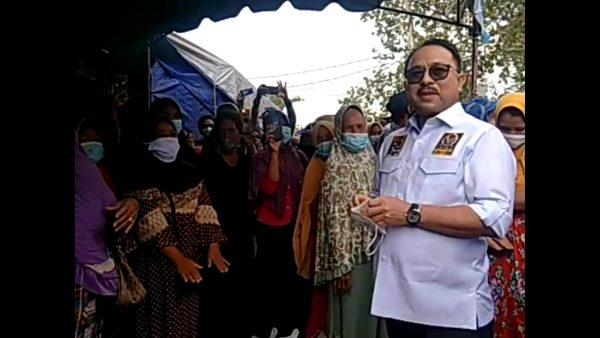 ALHAMDULILLAH Ucap Warga Bapak Pangeran Khairul Saleh Masih Ingat, Mau Menjenguk ke Sungai Tabuk