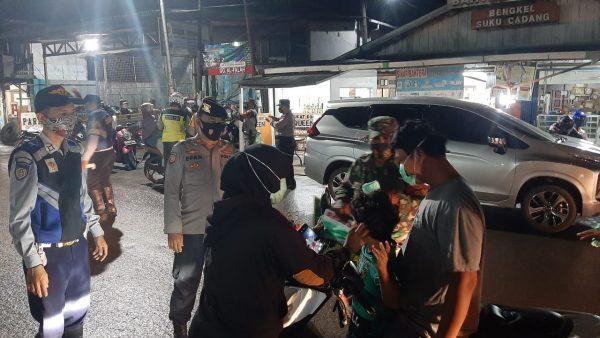 GABUNGAN PERSONiL Menyasar di Lima Kecamatan Banjarmasin.